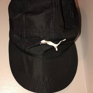 Black and White Puma Hat